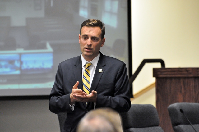 State Attorney General Adam Laxalt, who visited Pahrump in September, has not announced if he intends to run for governor.  Horace Langford Jr./Pahrump Valley Times
