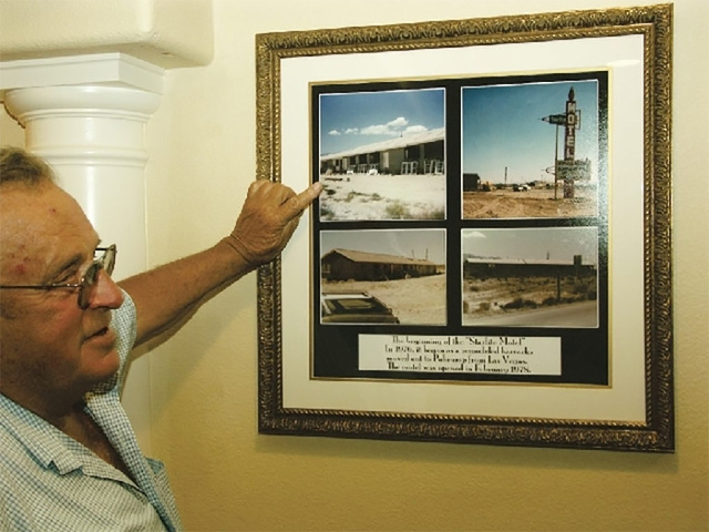 Ray Wulfenstein moved from Las Vegas to Pahrump in 1972, building a motel that is now the Best Western next to Draft Picks on Highway 160. He also developed a large construction company that carri ...