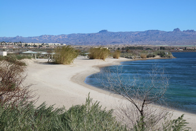 Big Bend of the Colorado State Recreation Area boasts about two miles of shoreline with sandy beaches, lagoons, picnic ramadas and barbecue grills.   Deborah Wall/Special to the Pahrump Valley Times