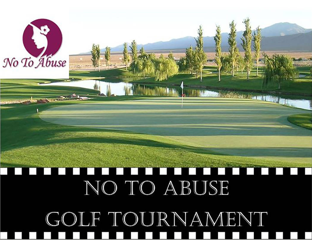 The annual No To Abuse Golf Tournament returns to Mountain Falls Golf Course on Sat., March 11. Registration begins at 8 a.m., with a 'shotgun' start at 9 a.m. A $10,000 check goes to anyone w ...