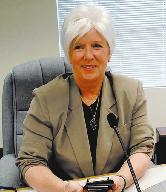 Nye County commissioner honored for service