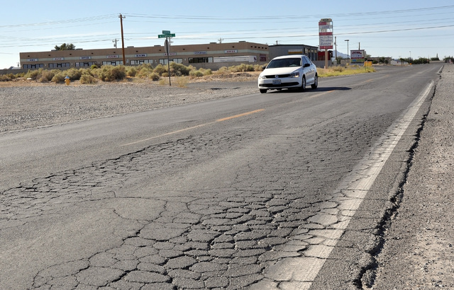 A $437,000 improvement project for project is planned for Pahrump Valley Boulevard between Highway 372 and Calvada Boulevard next year. The project will be funded partially by the new 5 cent gas t ...