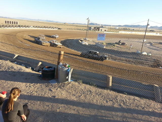 The bomber/hobbystock race during the recent Ironman Challenge. As the summer unfolds, the Tonopah Speedway is gearing up for several more weeks of racing action, featuring local competitors in ad ...