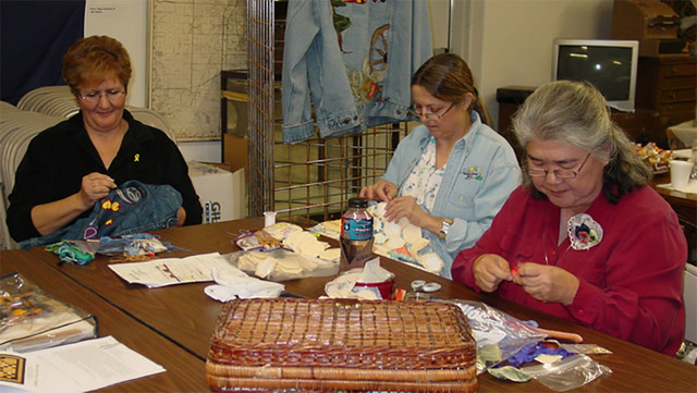 Members of Pahrump's Shadow Mountain Quilters will begin creating pillowcases and hygiene bags this month for valley students in need. Upward of 500 of the items will be given away to the childr ...