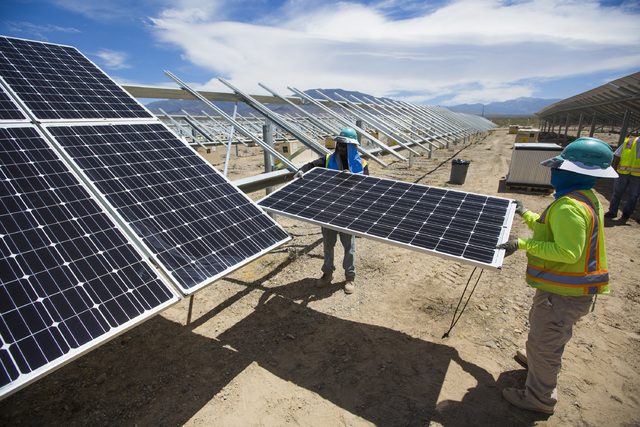Valley Electric Association, Inc.'s 15-megawatt facility will include 54,000 photovoltaic panels across 80 acres and will provide a local renewable generation source to VEA's members. Special to ...