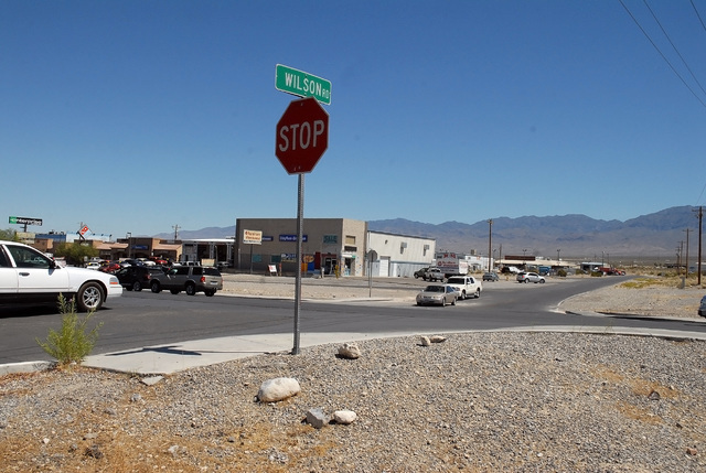 The Nevada Department of Transportation is studying the idea of putting the fourth traffic light or other improvements on Highway 160 at Oxbow Avenue and East Wilson Road. Horace Langford Jr./Pahr ...