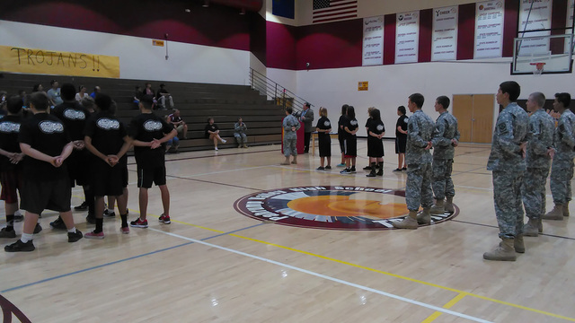 Seventeen teenagers in black shirts and short prepare to graduate on July 21 from the county's Juvenile Probation boot camp, which is designed for teens who have gone through the juvenile court or ...