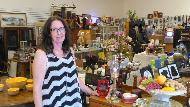 Nye Emporium owner Diana Spencer-Saum opened her 850 S. Lola Lane location in May. Business has exceeded her expectations and she plans to host a grand opening later this year.  Selwyn Harris/Pahr ...