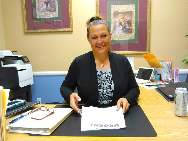 Ginger Stumne, deputy public administrator, has been appointed by Nye County commissioners to serve the remainder of the term after Robin Dorand-Rudolf recently resigned. Special to the Pahrump Va ...