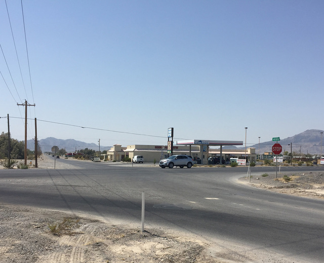 The state is planning $12.5 million of improvements along Highway 160 north of Basin Avenue, including lighting at the Mesquite Avenue intersection. Arnold M. Knightly/Pahrump Valley Times