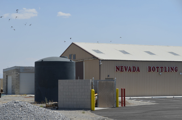 Philip Restifo of Green Cross of America, Inc., is converting his 20,000-square-foot building at 5101 S. Oakridge Ave., in Pahrump that used to house a water bottling plant to a medical marijuana  ...