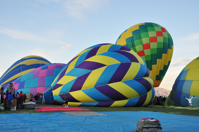 More than 30 hot air balloons will take flight next month as the annual Pahrump Balloon Festival returns to Petrack Park Feb. 24-26. The event features an expanded carnival portion and car show. A ...