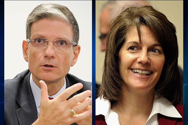 U.S. Rep. Joe Heck, R-Nev, and former Nevada Attorney General Catherine Cortez Masto face off in a one-hour live TV debate tonight at 7 p.m. They are seeking to fill the U.S. Senate seat being vac ...
