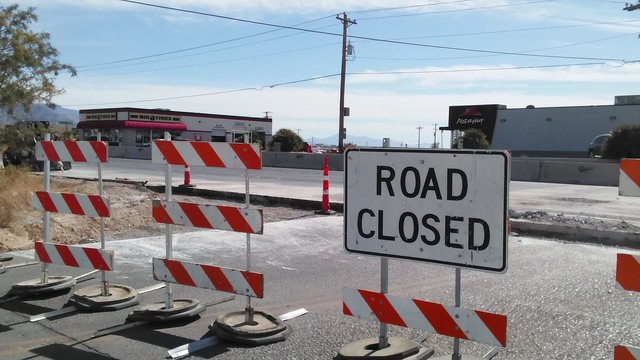 Emergency response times may be delayed as area road projects progress for the next six months, as this section of East Street at Highway 372 is now closed to traffic. Fire Chief Scott Lewis said  ...