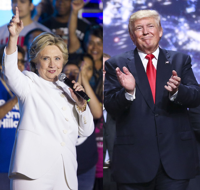 Hillary Clinton is pulling away from Donald Trump in Nevada opening a 7-point lead with early voting underway, according to a poll commissioned by the Las Vegas Review-Journal.  Special to the Pah ...