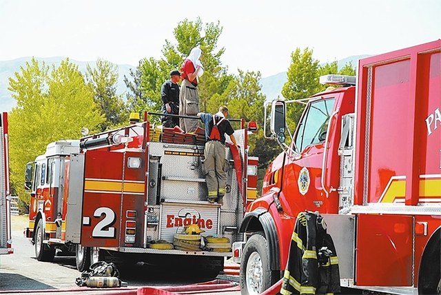 The Pahrump Valley Fire and Rescue chief had also several suspicious brush fires around town in recent days that may point to the use of illegal fireworks. Special to the Pahrump Valley Times