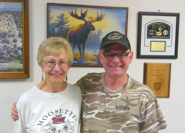 Pahrump Moose Lodge member Laurie Knight and Governor Barry Resh are inviting the community to the lodge's pig roast fundraiser on Saturday Oct. 29 from 3 to 6 p.m. The fundraiser is a donation- ...