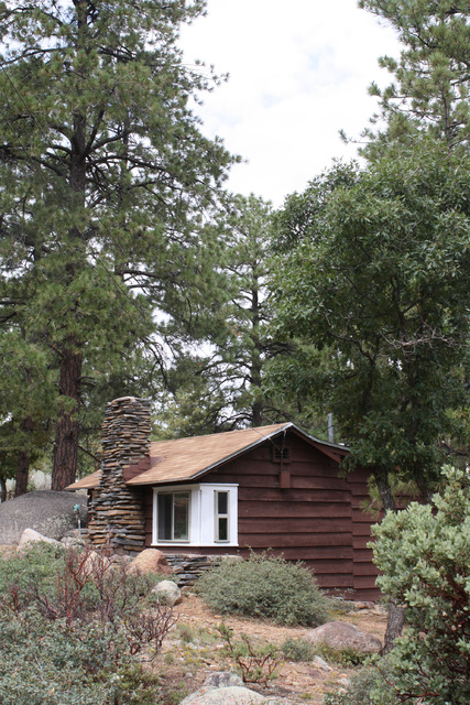 Some cabins at Hualapai Mountain Park date back to the 1930s, when the Civilian Conservation Corps laid out the first of the park's facilities. Deborah Wall/Special to the Pahrump Valley Times