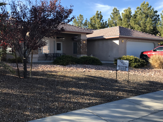 Home sales in the Pahrump Valley continue a strong year, as October saw 39 single-family homes sold. The number of homes sold is a 30 percent increase over same month last year when 30 single-fami ...