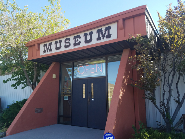 The Central Nevada Museum in Tonopah as shown in a photo earlier this year. As the result of budget issues, concerns are being raised about the museum's future.  David Jacobs/Times-Bonanza & ...