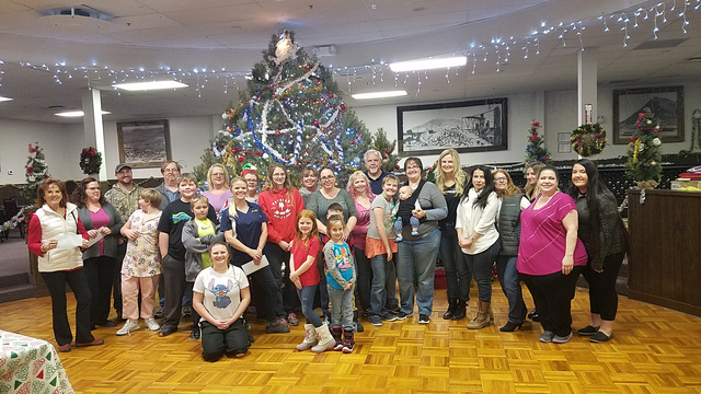Tonopah volunteers from multiple organizations are helping make this Christmas a special one for those in need. Over two days, at least 30 of them spent hours preparing Christmas-meal boxes, baggi ...
