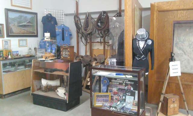 Costumes and memorabilia of the Nevada Silver Tappers is one of scores of exhibits at the Pahrump Valley Museum and Historical Society. This month, the Nevada Commission on Tourism approved a $2,5 ...