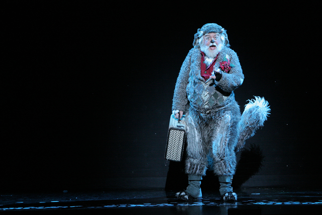 "Bob Lauder Jr. portraying Old Max in a national tour of ""Dr. Seuss' HOW THE GRINCH STOLE CHRISTMAS! The Musical.""  Courtesy of PaparazziByAppointment.com"