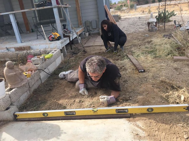 Local physician Dr. William Craig joins Rotary for a ramp building project earlier this year. The program is part of the Pahrump Valley Rotary Club's numerous ongoing service projects throughout ...