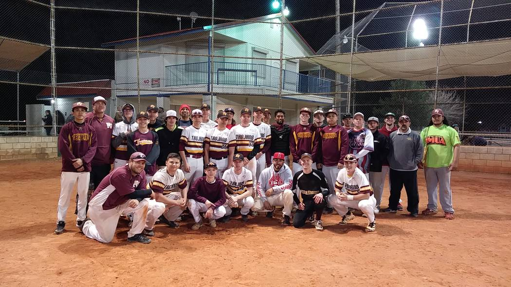 The Alumni Maroon and Gold Barbecue, a fun event for players of all ages to come together prior to the start of the season and reminisce about the game of baseball. Alumni attending were: Iggy Wag ...