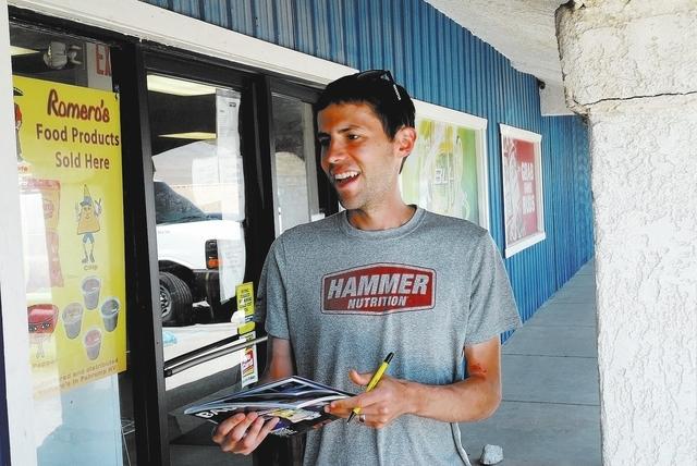 Horace Langford Jr / Pahrump Valley Times - Ultramarathon runner Pete Kostelneck.