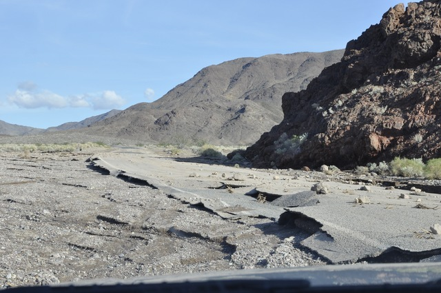 Bad Water Road in Death Valley National Park was reopened last week, 10-months after a series of storms washed portions of the road out. Badwater Road connects to CA-178 and isthe primary entrance ...