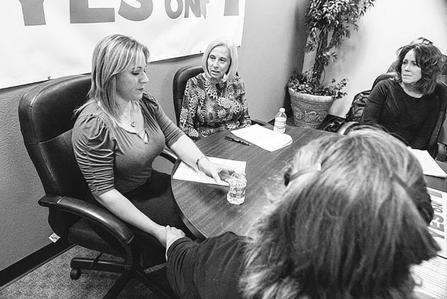 Domestic violence activists restate support of expanded firearm background checks