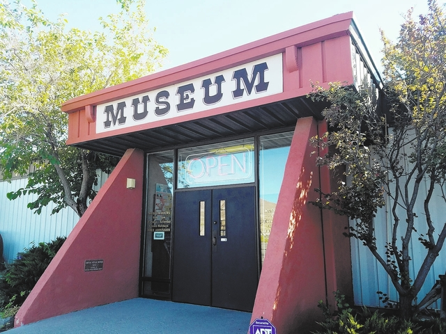The Central Nevada Museum in Tonopah as shown in a photo earlier this year. As the result of budget issues, concerns are being raised about the museum's future. David Jacobs/Times-Bonanza & Go ...