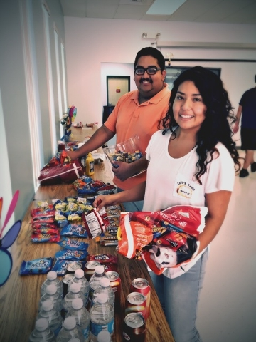 Pahrump Student Government Senators Christian Apolinar and Paola Briseno-Rojo hosted a Welcome Back BBQ for all Great Basin College Pahrump students earlier this month.  Speical to the Pahrump Val ...