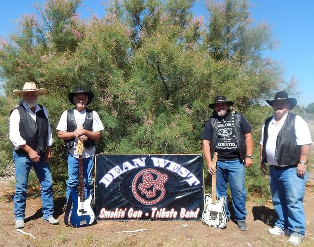 Dean West and the Smokin' Gun Band play Saturday at 8 p.m. at the Painted Lady Saloon on Highway 372 at East Street, kitty-corner from Big O.