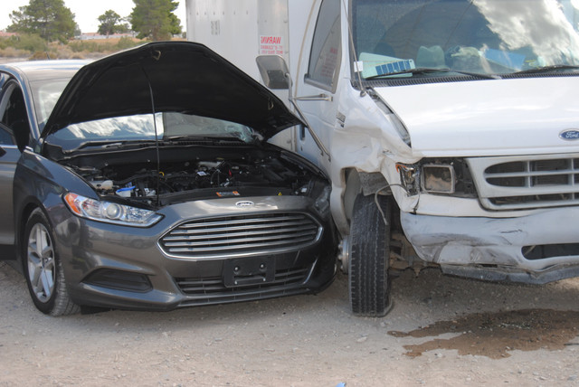 A two-vehicle collision at south Blagg Road and Comstock Circle mechanically entrapped one driver inside a sedan on Friday. Firefighters were able to free the trapped motorist in short order and t ...