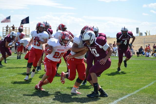 Football: Muckers rout Sierra Lutheran, off this week