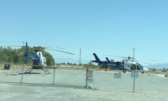 Mercy Air is set to celebrate the addition of its second aircraft in Pahrump, with a ceremony today at Desert View Hospital. the aircraft will land at Desert View Hospital at 9:45 a.m., followed b ...