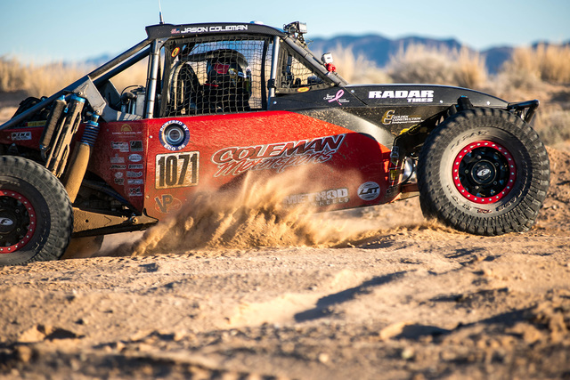 Pahrump Nugget 250 racer chasing Best in the Desert class title