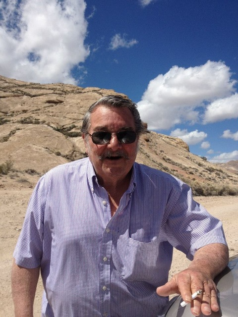 Special to the Pahrump Valley Times Bobby Revert spending some time outside in Beatty.