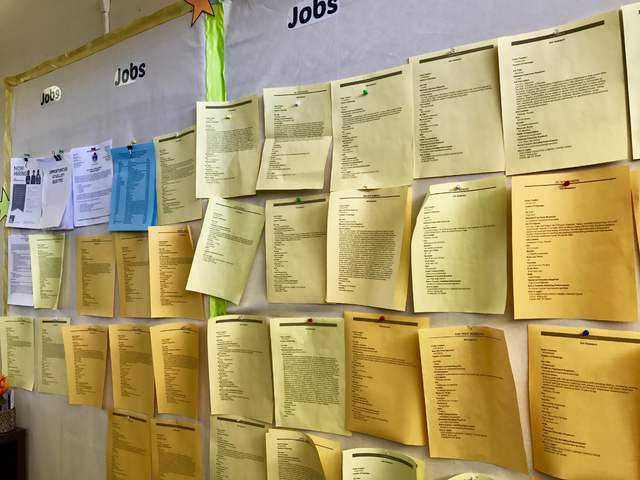 The unemployment rate in Nye County fell to 7.1 percent in September, marking the lowest point the county has seen since November 2007's seven percent. The job board at NyE Communities Coalition ...
