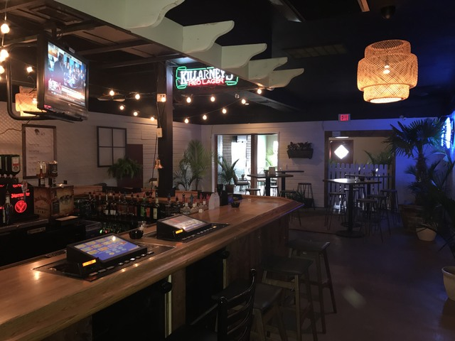 The bar area was touched up, new seating and decor was added and the lighting was made slightly brighter to create a more welcoming feel.   Mick Akers/Pahrump Valley Times