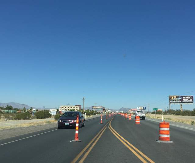 The Nevada Department of Transportation began a $3.49 million widening project of State Route 160 between Rainbow Avenue and Calvada Boulevard Tuesday. The project will expand a 1.75 mile stretch  ...