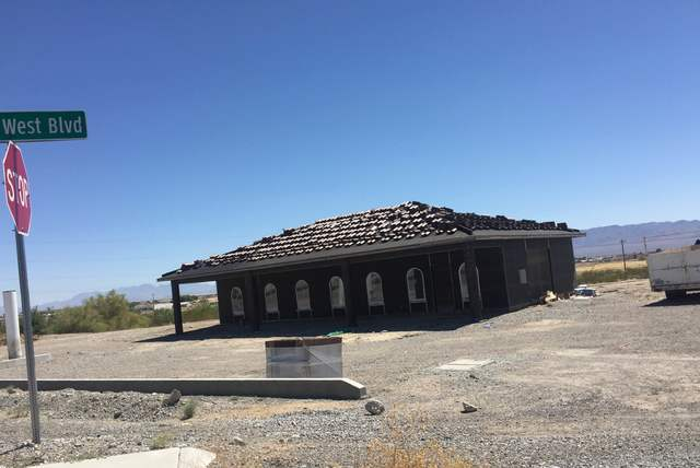 A new structure located at  1400 S. Highway 160, will be home to a retail store selling pistachios from O.U. Nuts pistachio Orchard, according to the Nye County Planning Department.   Mick Akers/P ...