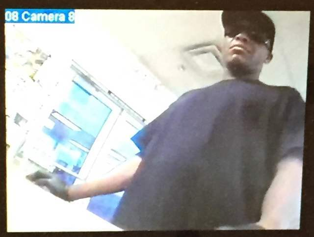 Suspect in Tuesday's Horizon Market robbery. Special to the Pahrump Valley Times