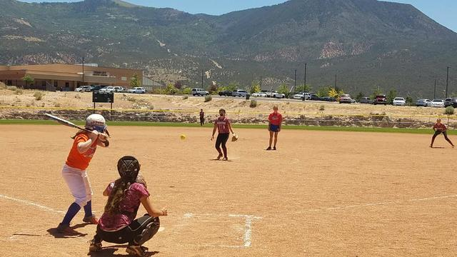 "Virginia Weir pitching in Cedar City. The Trojan Pride played 3 ""friendlies"" in Cedar City, Utah on July 23rd. They came out on top of the round robin with three wins. The first game was playe ..."