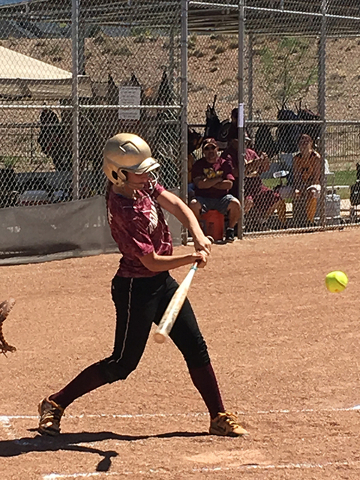 Jackie Stobbe gets a hit in Cedar City. The third game was against the Blast of Las Vegas. The Pride won 10-6. Leeanne Kaiwi belted a giant home run in the first to put the Pride up by three. The  ...