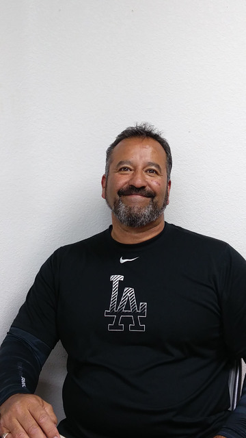 Little League president Lou Banuelos says there were 320 youngsters out for baseball this year.  Charlotte Uyeno / Pahrump Valley Times