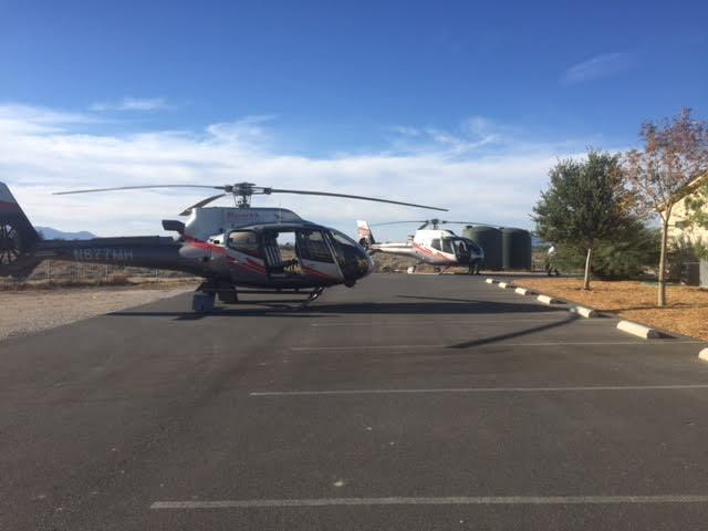 Sanders Winery is in the process of developing a deal with Maverick Helicopters out of Las Vegas to fly in tourists, making the trip to Pahrump more convenient for potential visitors.   Special to ...