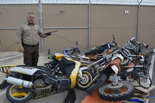 Moped drivers in Nevada must register their vehicles before Jan. 1. The one-time fee was set up by Senate Bill 404 last year. and was created as an anti-theft measure the Department of Motor Vehic ...